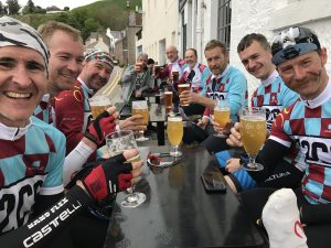 C2C9 Team Cloud have a pint